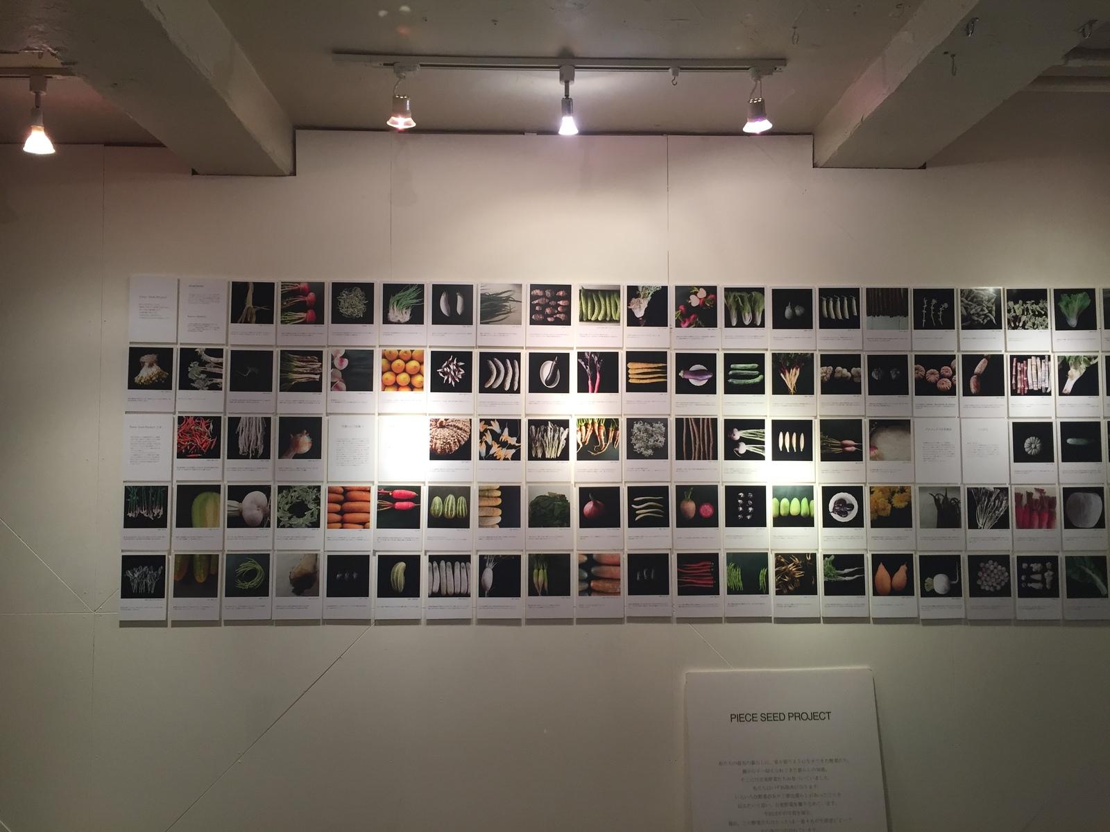 4/27-5/13 古来種野菜の写真展『Piece Seed Project』を開催します。
